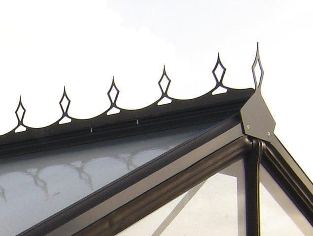 Acd tuinkas prestige r204 afmeting 232 x 298 cm - Buisvormige constructie ...