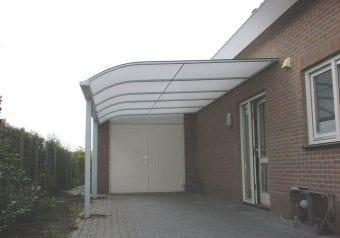 Skinle carport met verandadak dak type V