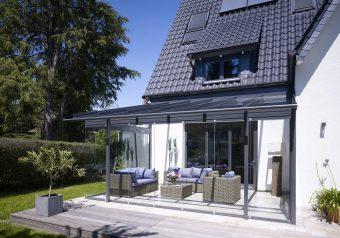 Overkapping Atrium van Solarlux