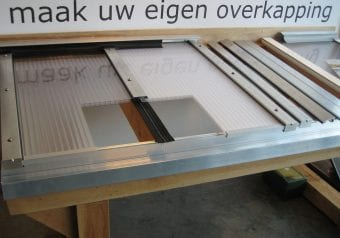 Pext Dakpakket 1UV muuraanbouw,  model Basic