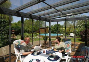 Solarlux tuinkamer type Atrium