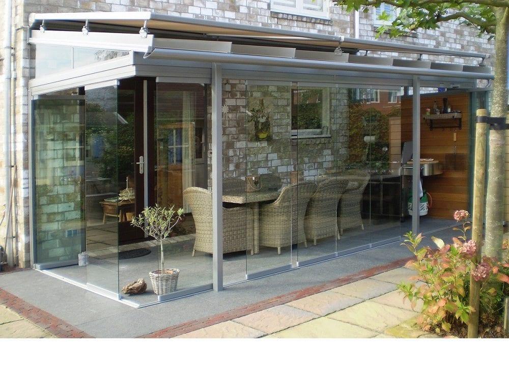 solarlux tuinkamer type atrium. Black Bedroom Furniture Sets. Home Design Ideas