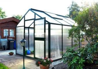Hoklartherm tuinkas Bio top III, 310 x 310 cm