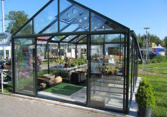 Hoklartherm tuinkas Bio varis XL, 410 x 410 cm