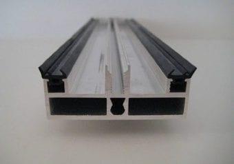 Pext Profielpakket kliklijst RAL glasvoorbereid muuraanbouw,  model Premium