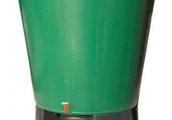 Regenton groen, inhoud 200 liter